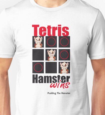 Pudding The Hamster - Tetris Unisex T-Shirt
