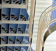 Blue Sails and Handrails by AndyGii