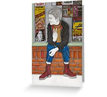 Little Skinhead Greeting Card