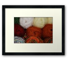 Autumn Skeins Framed Print