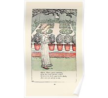 Mother Goose or the Old Nursery Rhymes by Kate Greenaway 1881 0034 Mary Mary Quite Contrary Poster