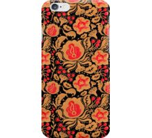The Khokhloma Kulture Pattern iPhone Case/Skin