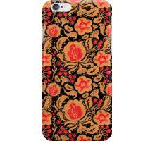 The Khokhloma Kulture Pattern iPhone Case/Skin
