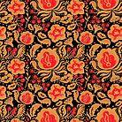 The Khokhloma Kulture Pattern by haidishabrina