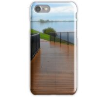 Manning River walk way 01 iPhone Case/Skin
