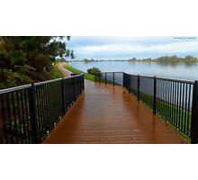 Manning River walk way 01 Photographic Print