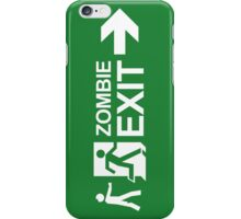 Zombie Exit iPhone Case/Skin