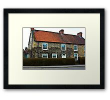 Helmsley Cottages #2 Framed Print