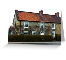 Helmsley Cottages #2 Greeting Card