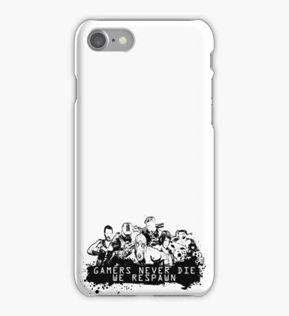 We never die! iPhone Case/Skin