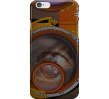 eye as a lens - steampunk variations iPhone Case/Skin