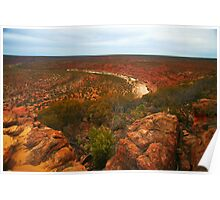 The Red Outback Poster