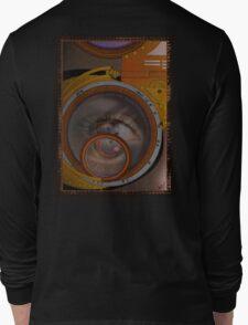 eye as a lens - steampunk variations Long Sleeve T-Shirt