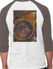 eye as a lens - steampunk variations Men's Baseball ¾ T-Shirt
