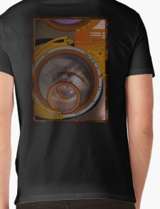 eye as a lens - steampunk variations Mens V-Neck T-Shirt