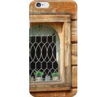Cottage Window iPhone Case/Skin