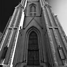 St Patrick&#x27;s Church New Orleans B&amp;W by GJKImages