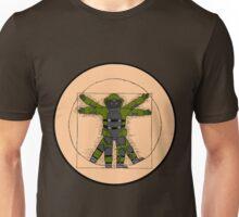 Vitruvian Bulldozer Unisex T-Shirt