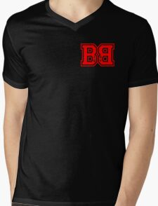 Big Boy BB Logo 2 Mens V-Neck T-Shirt