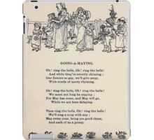 Miniature Under the Window Pictures & Rhymes for Children Kate Greenaway 1880 0022 Going a Maying iPad Case/Skin