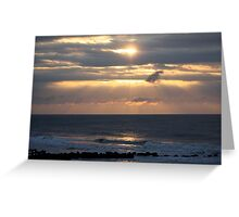 After Storm Skies Greeting Card