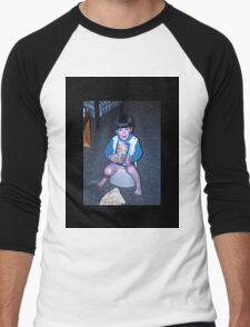 Potty Sitter Men's Baseball ¾ T-Shirt