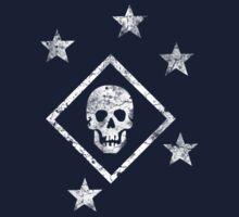 Marine Raiders - Distressed (White) Kids Clothes