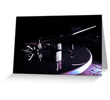 Peavey with a cooling filter Greeting Card
