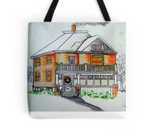 West and Wellington Street Tote Bag