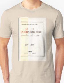 I AM 2eme SEX Unisex T-Shirt