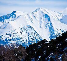 Face of Mt. Sopris by phil decocco