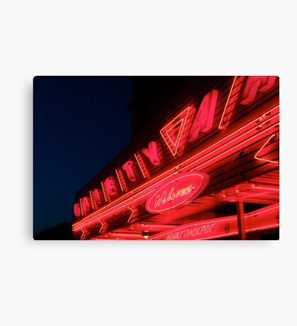 Gaiety Welcome Canvas Print