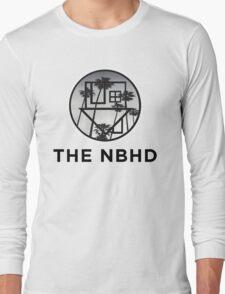 The Neighbourhood Palm Tree Print The NBHD Band Shirt Long Sleeve T-Shirt