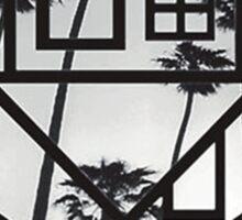 The Neighbourhood Palm Tree Print The NBHD Band Shirt Sticker