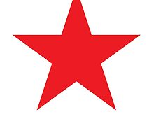 Red Star, Stardom, Power to the people! Stellar, Cosmic by TOM HILL - Designer