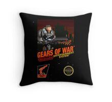 """Gears Of War """"Retrofied"""" Throw Pillow"""