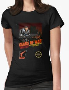 """Gears Of War """"Retrofied"""" Womens Fitted T-Shirt"""