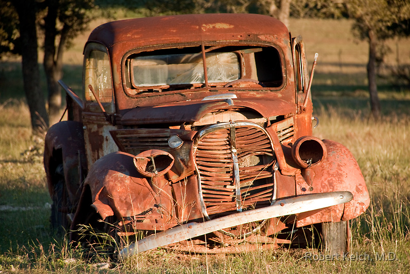 Rusting in Peace in Texas Hill Country by Robert Kelch, M.D.