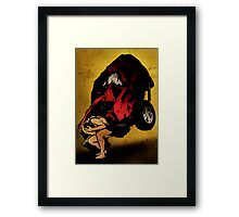 Crash! Framed Print