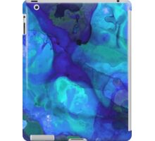 Violet Blue - Abstract Art By Sharon Cummings iPad Case/Skin