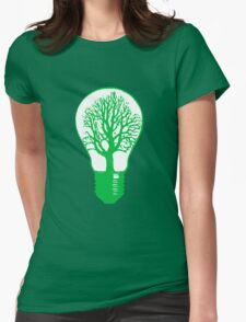 Clean Power Womens Fitted T-Shirt