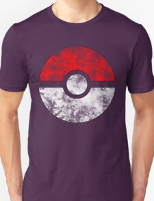 Distressed Pokeball Unisex T-Shirt