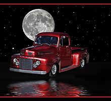 Moon & truck by Pshopdug