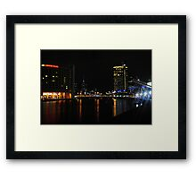 Crown Towers - Crown Casino Framed Print