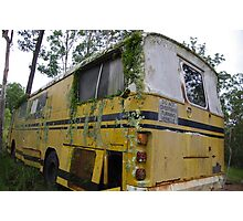 Yellow Bus  Photographic Print