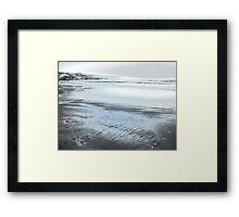 Silver Seascape II Framed Print