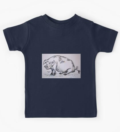 PIG (in pen and oink!) Kids Tee