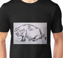 PIG (in pen and oink!) Unisex T-Shirt