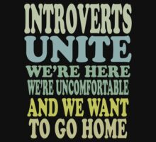 Introverts Unite by Ricaso
