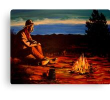 Camp Coffee #1 Canvas Print